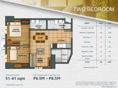 Two Bedroom For Sale
